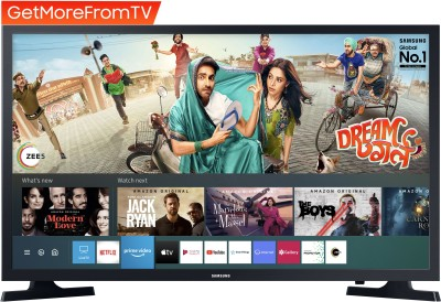 Samsung 80cm (32 inch) HD Ready LED Smart TV 2020 Edition with Voice Search(UA32TE40FAKXXL)