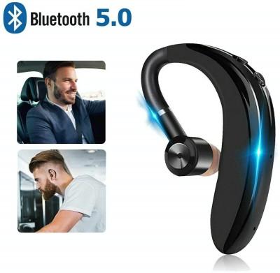 Raptech S109 Single Wireless 18 Hours of Calling Bluetooth Headset(Black, True Wireless)