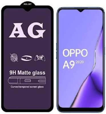 stylist sky Edge To Edge Tempered Glass for Oppo A9 2020 + CPH1937(Pack of 1)