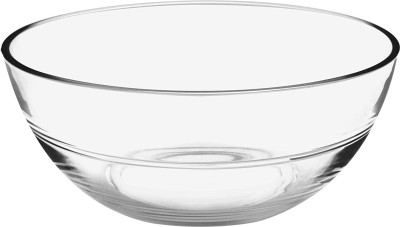 Treo JELO BOWL Glass Serving Bowl(Clear, Pack of 1)