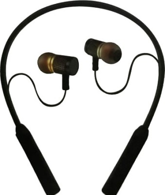 GRAYLEAF Neck Band Style Stereo Wireless Bluetooth Headset Bluetooth Headset(Multicolor, In the Ear)
