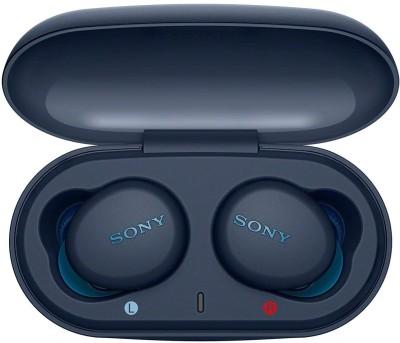 SONY WF-XB700 With 18 Hours Battery Life Bluetooth Headset(Blue, True Wireless)