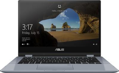 Asus VivoBook Flip 14 Core i3 10th Gen - (4 GB/512 GB SSD/Windows 10 Home) TP412FA-EC372TS 2 in 1 Laptop(14...