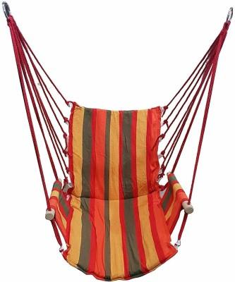 Swingzy Cotton, Wooden Swing(Multicolor)