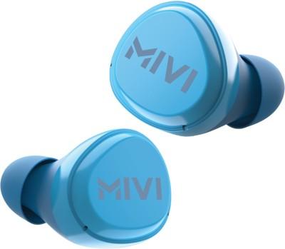 Mivi DuoPods M20 True Wireless Bluetooth Headset(Blue, True Wireless)