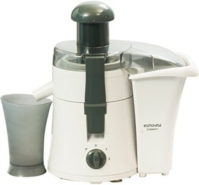 Kutchina Eternity 450 Watt Juicer, White & Grey 450 Juicer(White & Grey, 1 Jar)