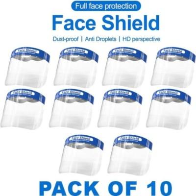 TECH SESNE Full Face Shield Mask, q58813 Face shield mask Safety Visor(Size - FREE)