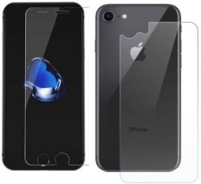 FIRST IMPRESSION Front and Back Tempered Glass for Apple iPhone SE(Pack of 2)