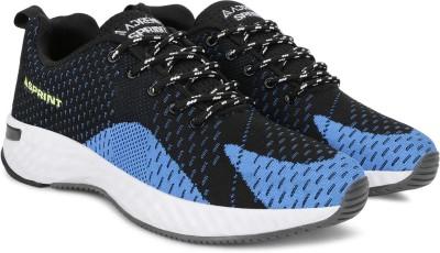 Adrenex Running Shoes For Men(Blue, Black)