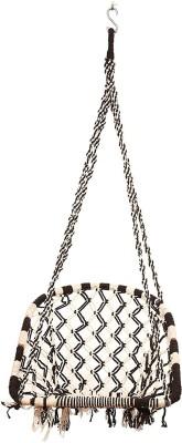 Faburaa Cotton Swing(Black, White)