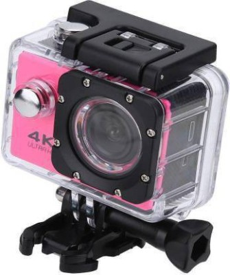HICCUP 1080P Action 4K 4K Waterproof Sports Action Camera   4K Ultra HD, 16MP,2 Inch LCD Display Sports and Action Camera Sports and Action Camera Bla