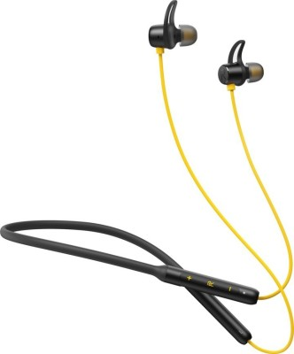 MR REALTECH RLM Reall Buds Wireless Bluetooth Headset(Black, Yellow, Wired in the ear)