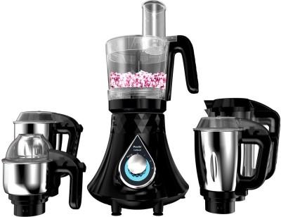 Preethi Zodiac Cosmo MG 236 750 Juicer Mixer Grinder(Black, 5 Jars)