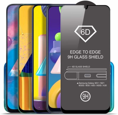 Express Buy Edge To Edge Tempered Glass for Samsung Galaxy F41(Pack of 1)
