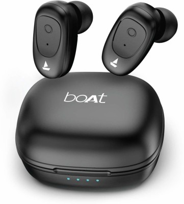 boAt Airdopes 201 Bluetooth Headset(Active Black, True Wireless)