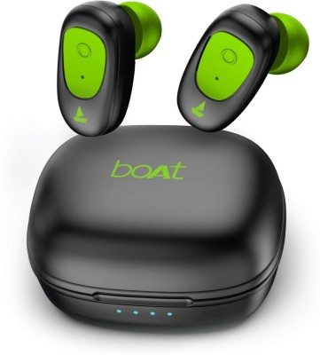 boAt Airdopes 201 Bluetooth Headset(Viper Green, True Wireless)