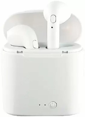 CASADOMANI i7s TWS pocketable Headphone For Ios Android Bluetooth Headset(White, In the Ear)
