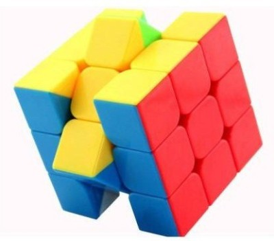 SQE High Speed Stickerless 3x3 Magic Cube Puzzle Game Toy 1 Pieces SQE Puzzles