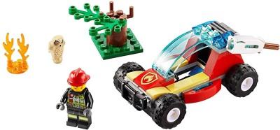 LEGO 60247 Forest Fire Multicolor LEGO Blocks   Building Sets