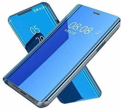 mrs simin Flip Cover for Redmi Note 8(Blue)