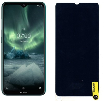 MOBIE ATTIRE Edge To Edge Tempered Glass for NOKIA 7.2(Pack of 1)