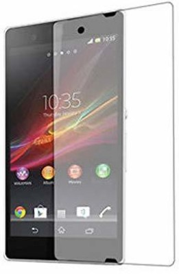Shell Guard Edge To Edge Tempered Glass for Sony Xperia Z (Pack of 2)(Pack of 2)