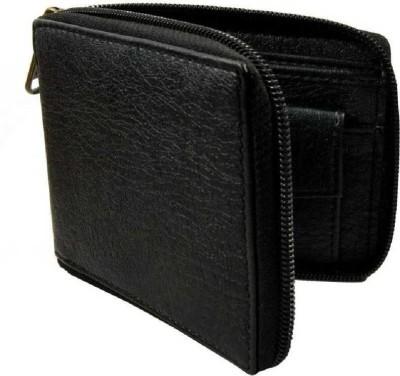 Designer Bugs Men Black Artificial Leather Wallet