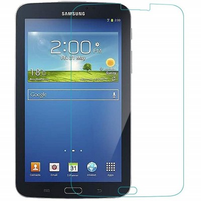 Rosaline Tempered Glass Guard for Samsung Galaxy Tab 3 7.0 T211(Pack of 1)