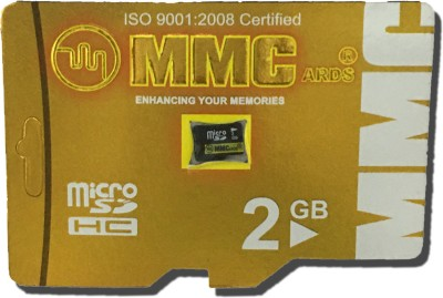 MMC Smart 2  GB SD Card Class 6 20 MB/s Memory Card MMC Memory Cards