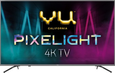 Vu Pixelight 189cm (75 inch) Ultra HD (4K) LED Smart TV(75QDV)