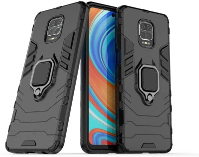 Cover Alive Back Cover for Poco M2 Pro, Mi Redmi Note 9 Pro, Mi Redmi Note 9 Pro Max(Black, Shock Proof)