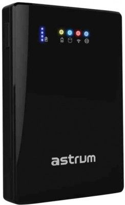 ASTRUM 1 TB External Hard Disk Drive with 1 TB Cloud Storage(Black)