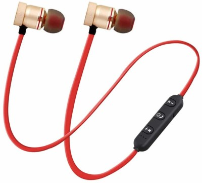 Cospex CVGH54R Bluetooth Headset(Multicolor, In the Ear)