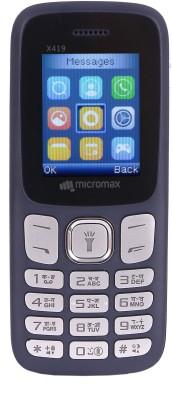 Micromax X419 Blue Micromax Mobiles
