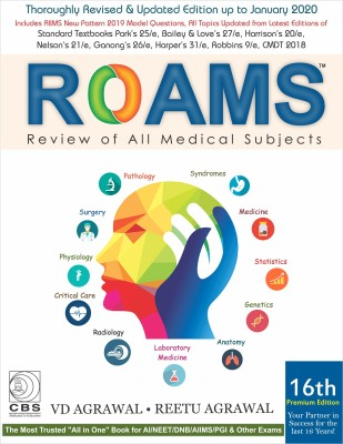 ROAMS Review of All Medical Subjects(English, Paperback, Agrawal V.D.)