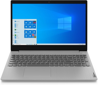 Lenovo Ideapad 3 Core i5 10th Gen - (8 GB/1 TB HDD/Windows 10 Home/2 GB Graphics) 15IML05 Laptop(15.6 inch, Platinum Grey, 1.7 kg, With MS Office)