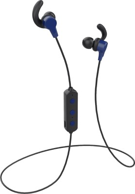 Flipkart SmartBuy BassBeatz Bluetooth Headset(Blue, Black, In the Ear)