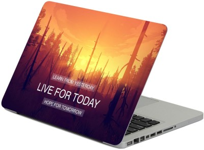 FineArts Learn from Yesterday Live for Today Hope for Tomorrow Vinyl Laptop...
