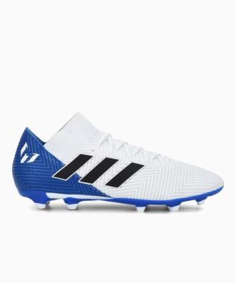 ADIDAS Nemeziz Messi Football Studs Football Shoes For Men White, Blue