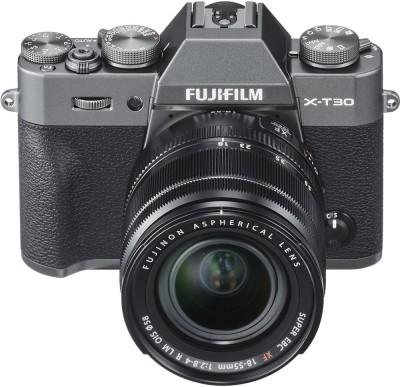 Fujifilm X-T30 Mirrorless Camera Body with 18-55 Kit Lens(Grey)