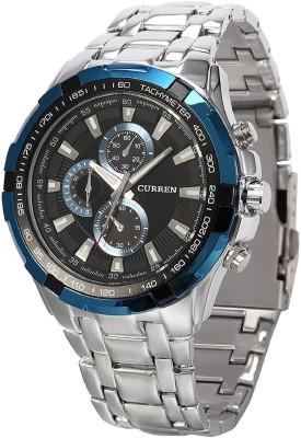 Talgo TG Curren 8023 Blue Analog Watch   For Men Talgo Wrist Watches