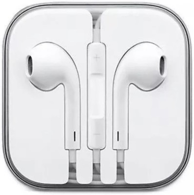 PRECLUSIVE Original Earphone for Iphone 6,6s,6+,7,7+,8+ Wired Headset(White, In the Ear)