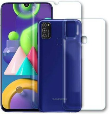 FINCH Front and Back Screen Guard for SAMSUNG GALAXY M21(Pack of 2)