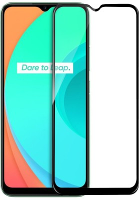 Knotyy Edge To Edge Tempered Glass for Realme Narzo 20, Realme Narzo 20A, Realme C11, Realme C12, Realme C15, Realme C3, Realme 5, Realme 5i, Realme 5s, Oppo A9 2020, Oppo A5 2020, Realme Narzo 10, Realme Narzo 10A, Oppo A31(Pack of 1)