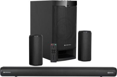 Zebronics ZEB-Juke Bar 9400 Pro Dolby 525 W Bluetooth Soundbar(Black, 5.1 Channel)