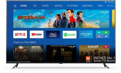 Mi 4X 163.9 cm (65 inch) Ultra HD (4K) LED Smart Android TV