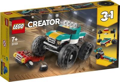 LEGO 31101 Monster Truck Multicolor LEGO Blocks   Building Sets