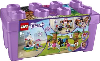 LEGO 41431 Heartlake City Brick Box Multicolor LEGO Blocks   Building Sets