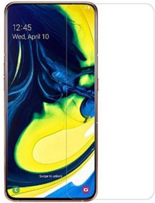 EASYKARTZ Tempered Glass Guard for Samsung Galaxy A80(Pack of 1)