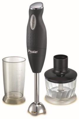 Prestige PHB 6.0 200 Watt 2 Speed Hand Blender with Blending Jar, Chopping, Whisking Attachment multifunctional blade 200 W Chopper,...